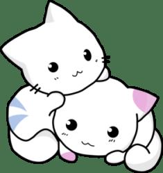 clip kitten kittens cute clipart cats cat kawaii kitty clipartpanda cartoon anime puppies gatitos dibujos vector animal terms