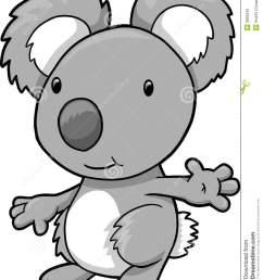 koala clipart [ 1043 x 1300 Pixel ]