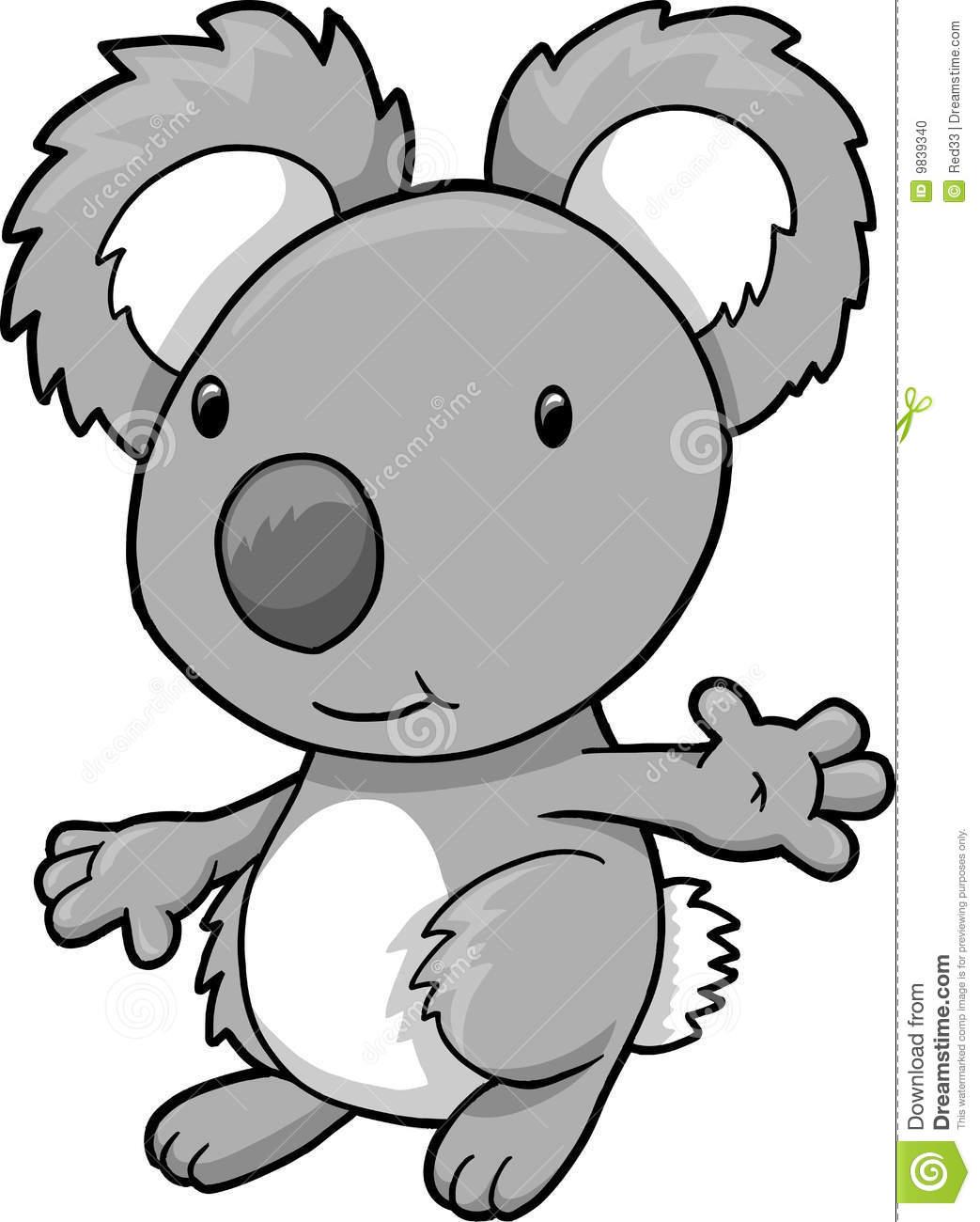 hight resolution of koala clipart