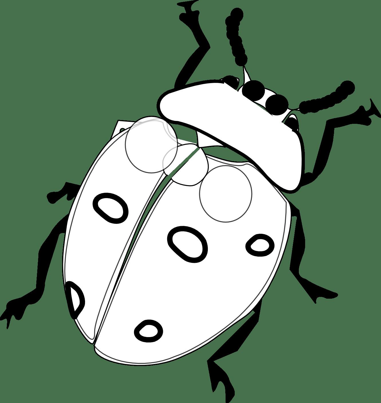Ladybug On Flower Tattoo Clipart Panda