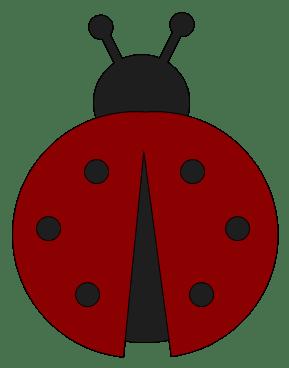 ladybug silhouette clipart panda