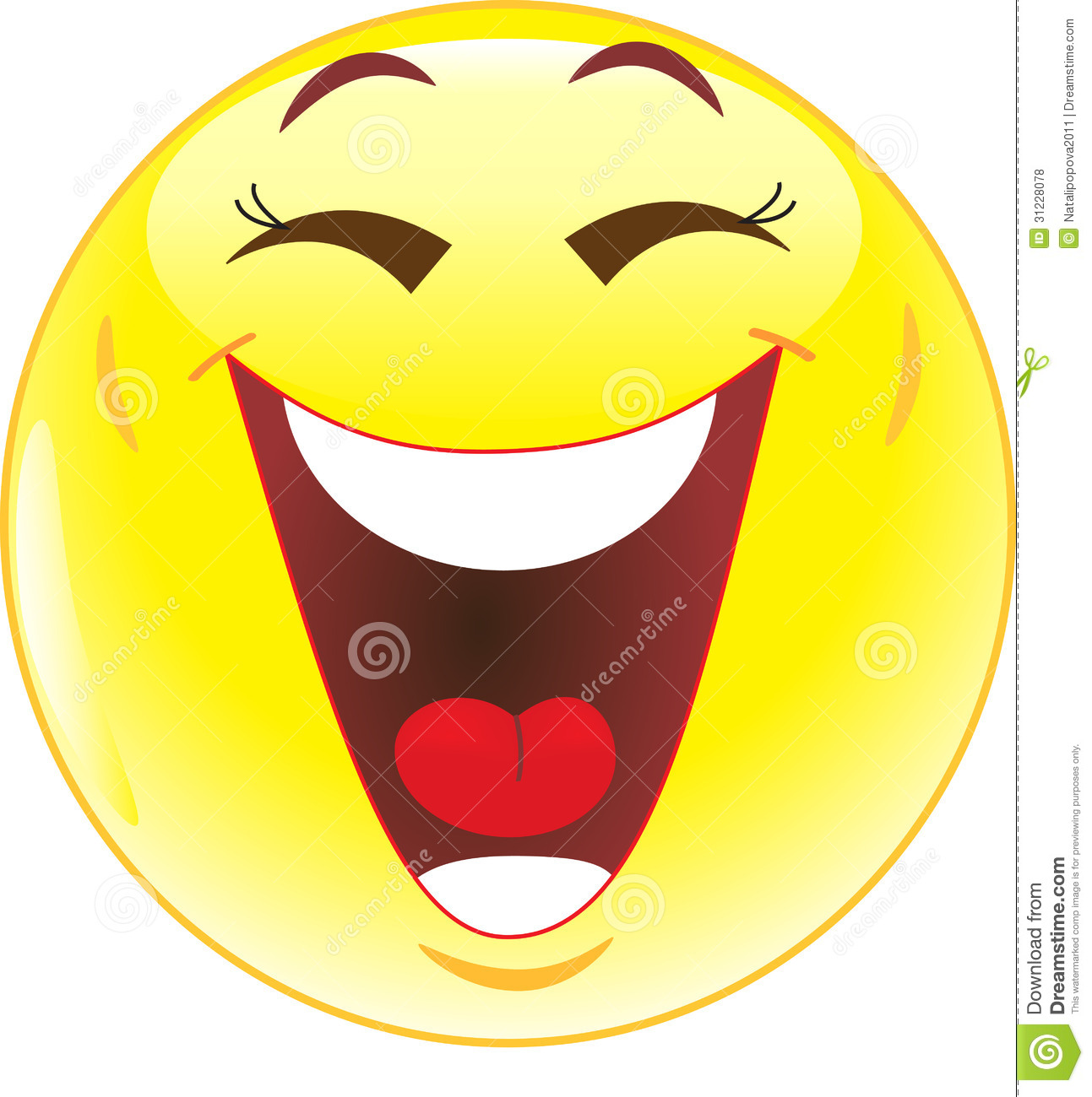 hight resolution of laughter clipart