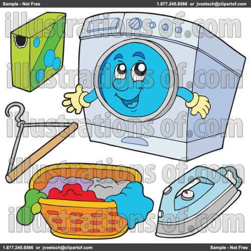 small resolution of laundry clipart