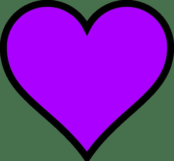 purple heart clip art clipart
