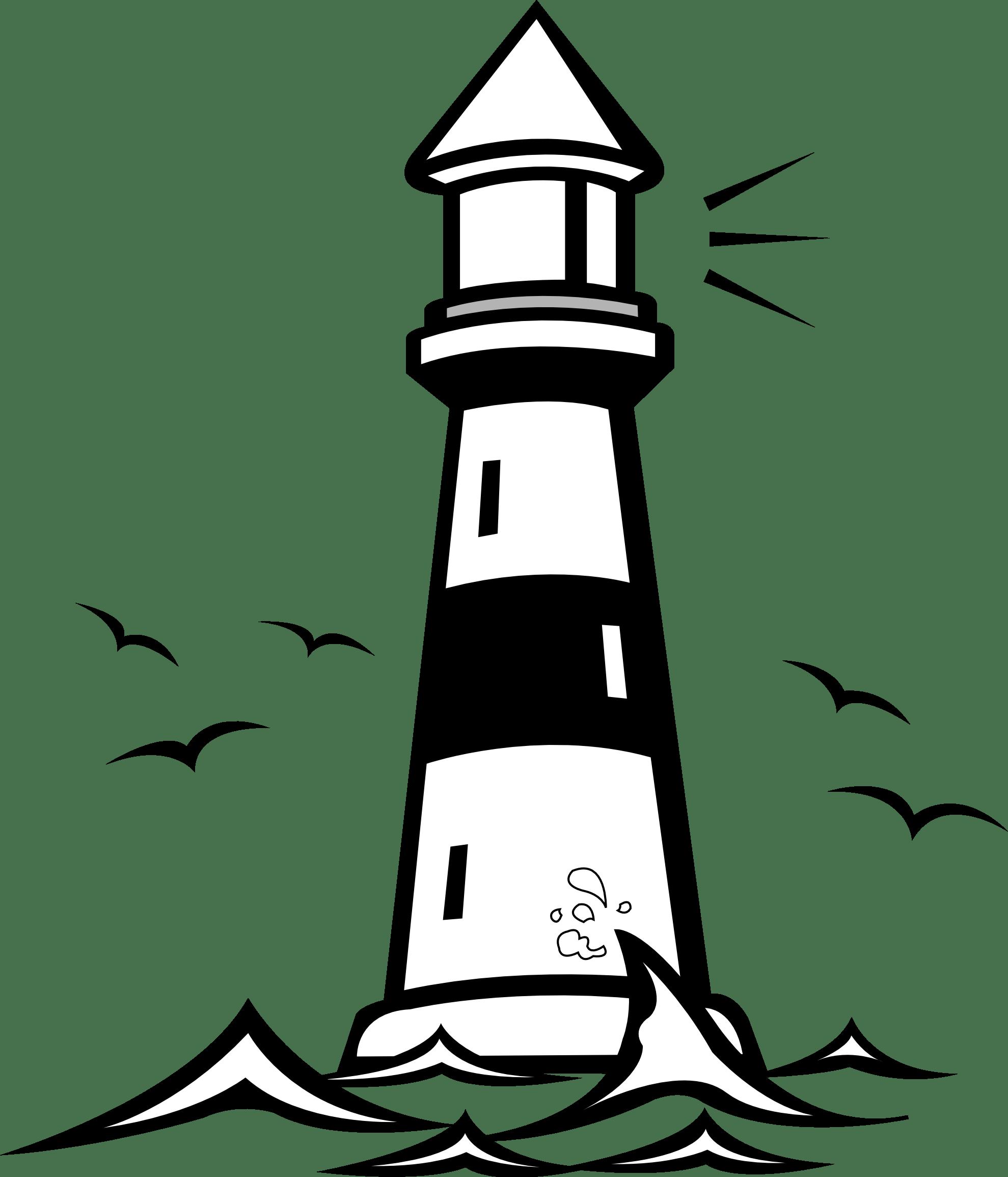 Lighthouse Clip Art Free Printable Clipart Panda