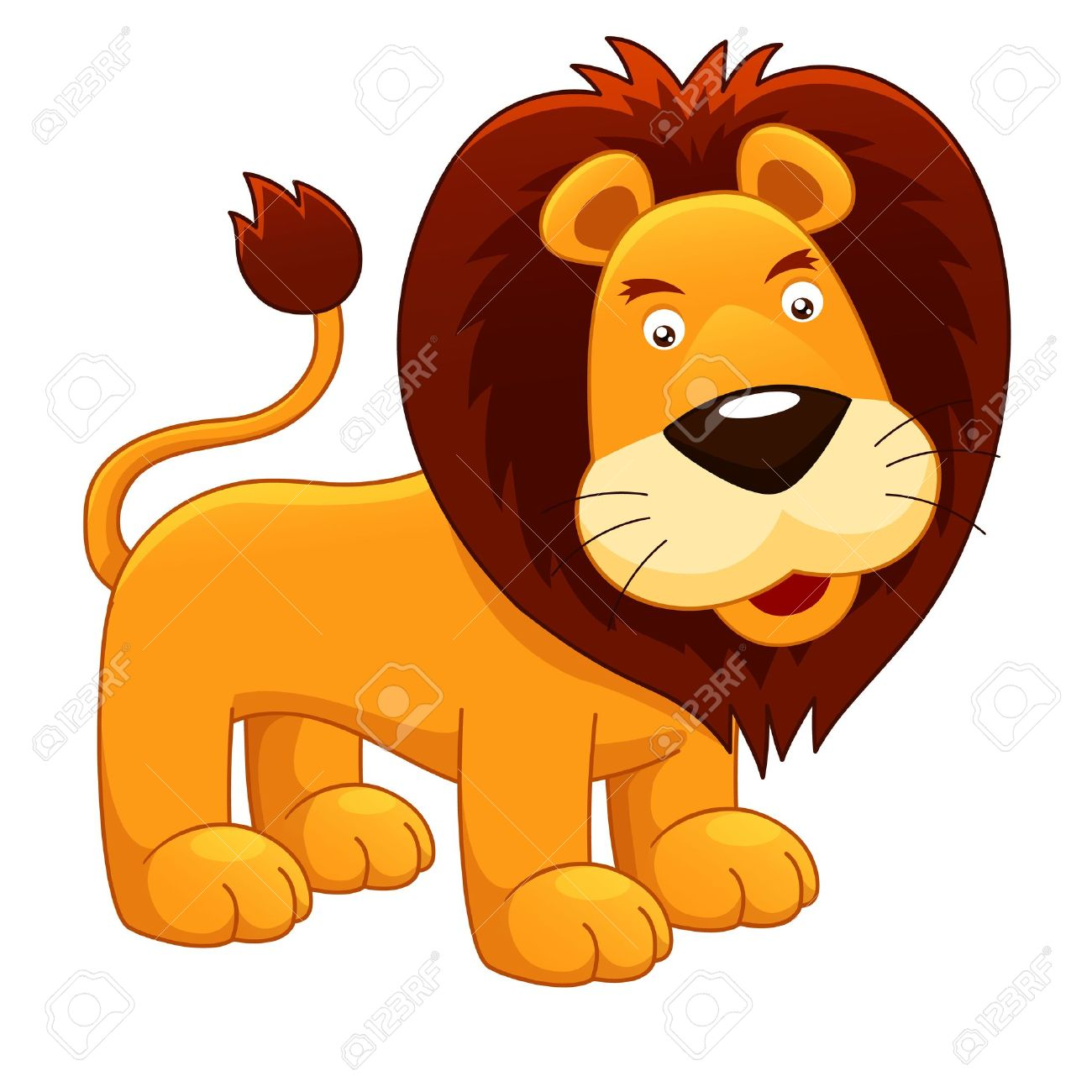 hight resolution of lion clipart