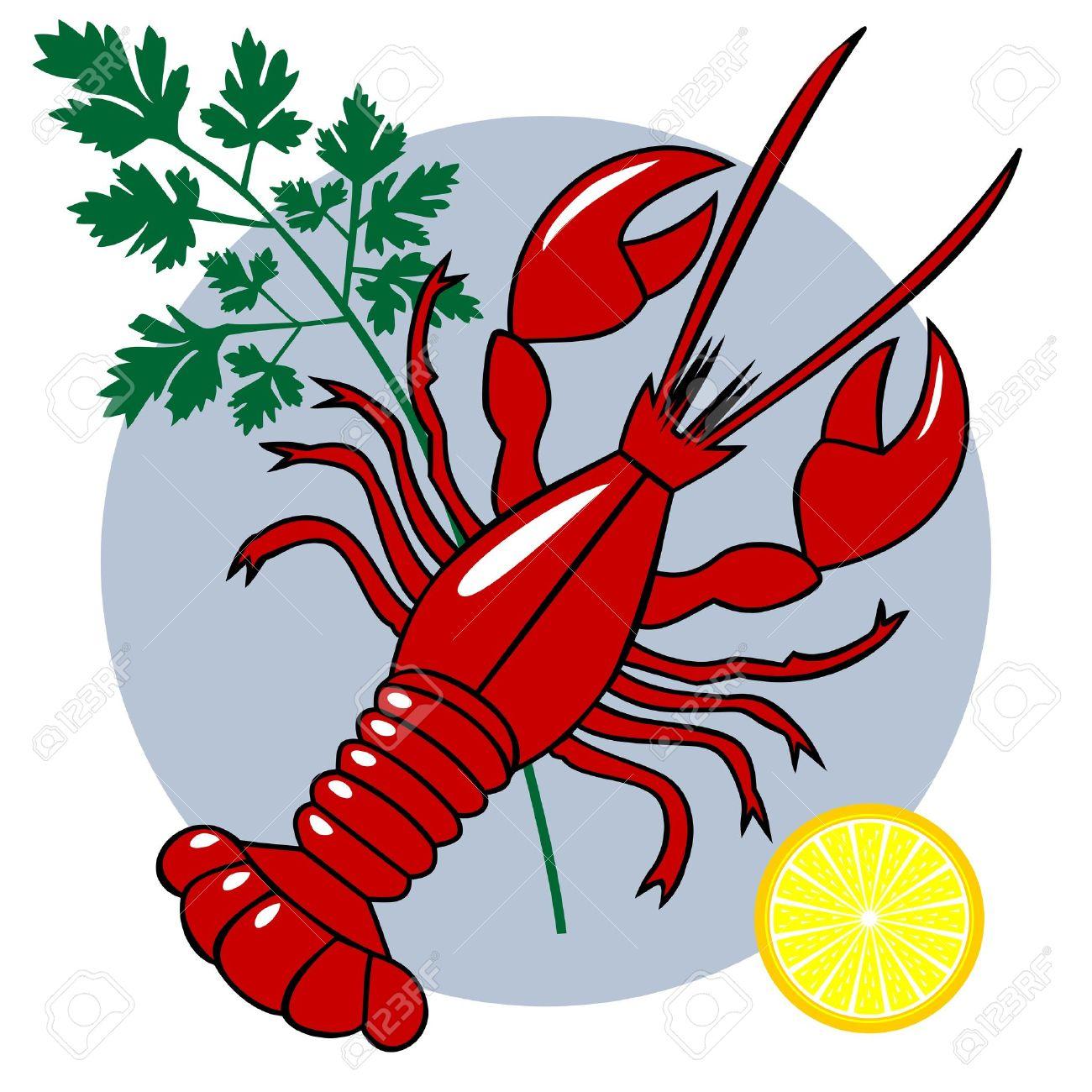hight resolution of lobster clipart