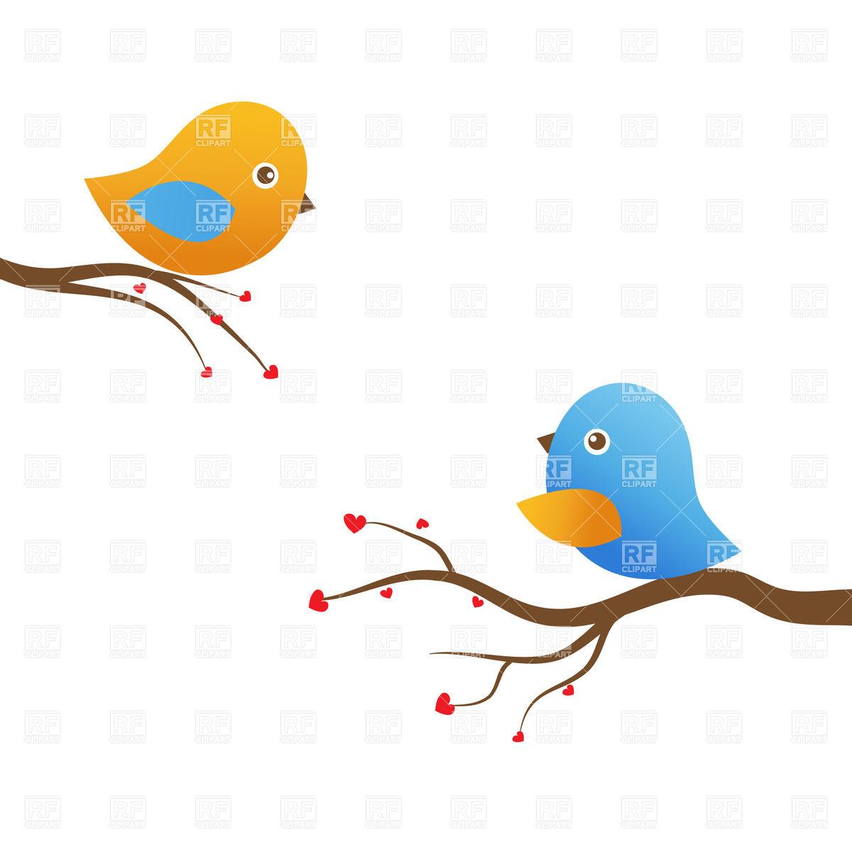 hight resolution of love birds clipart