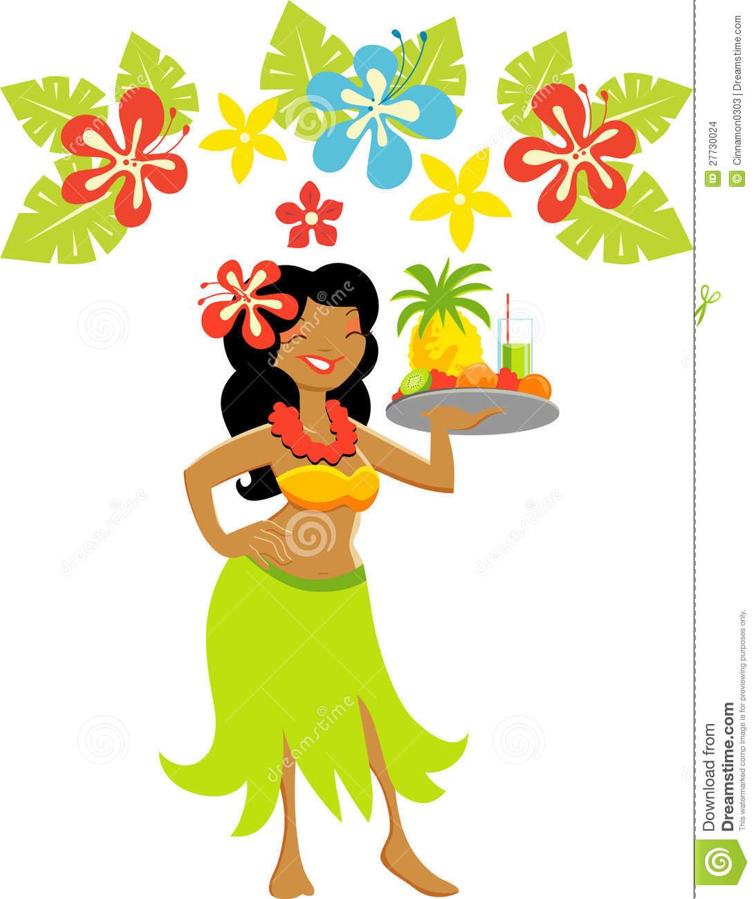 hight resolution of luau flower clip art
