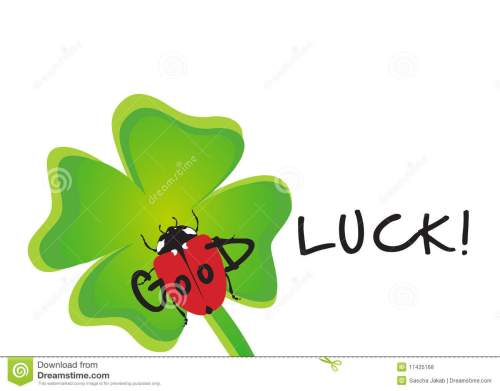 small resolution of luck clipart