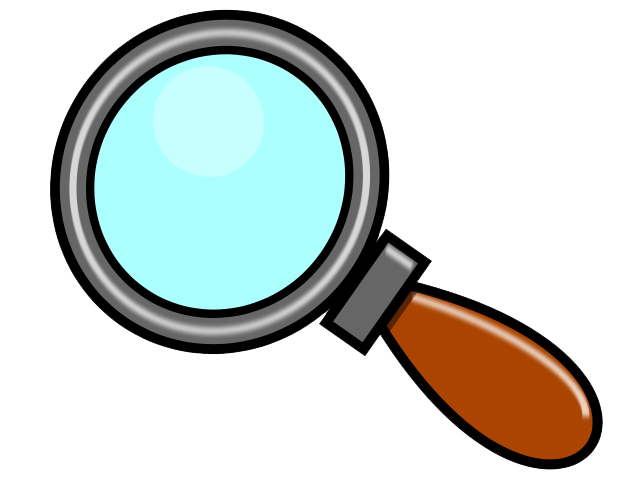 Image result for magnifying glass clip art
