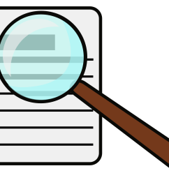 magnifying glass clipart [ 2400 x 2036 Pixel ]