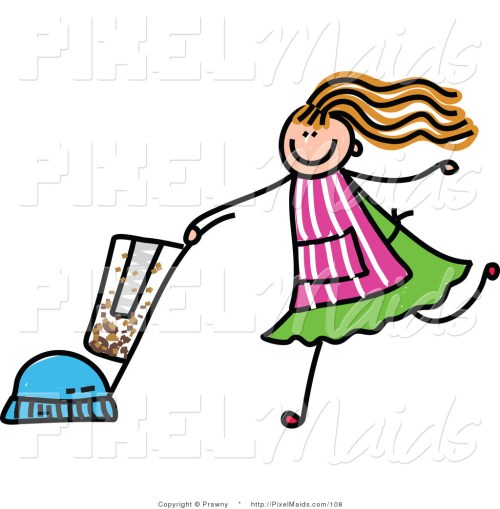 small resolution of maid clipart