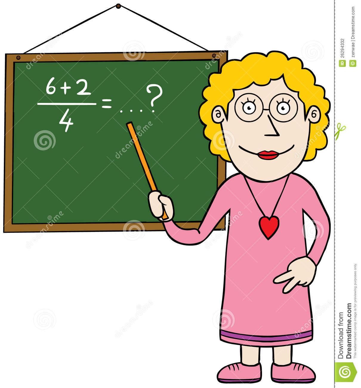 hight resolution of math teacher teaching