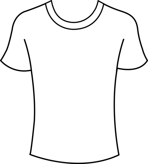 Clothing Outline Clip Art