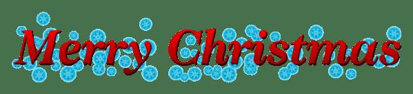 merry christmas banner clipart