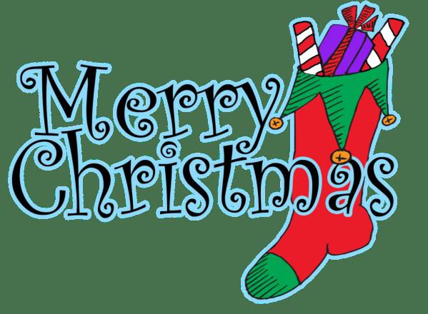 free merry christmas clip art