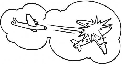 Sketch Fighter Jet Cockpit Coloring Pages