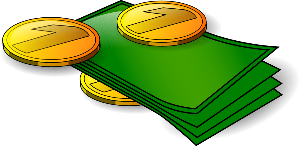 medium resolution of money clipart