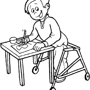 Norman Rockwell Painting Coloring Page Coloring Pages