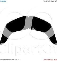 moustache clipart [ 1080 x 1024 Pixel ]