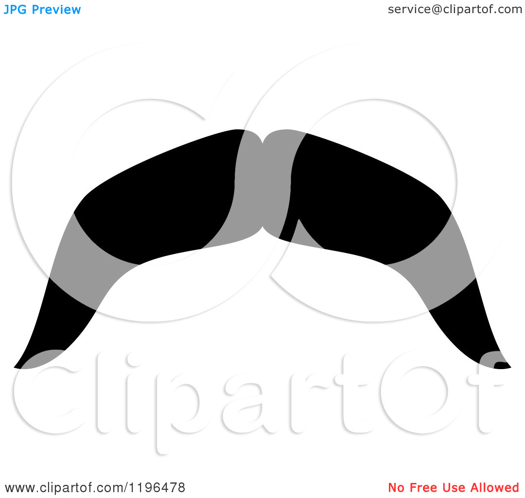 hight resolution of moustache clipart