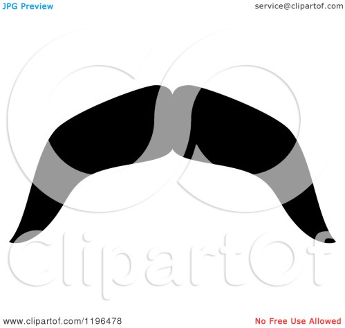 small resolution of moustache clipart