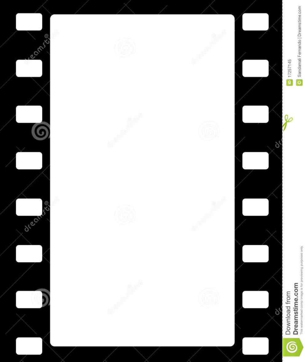 medium resolution of movie border clipart