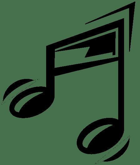 music notes transparent clipart