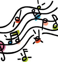 music notes on staff clipart [ 1024 x 768 Pixel ]