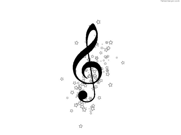 20 Music Notes Tattoos Drawing Stencils Ideas And Designs