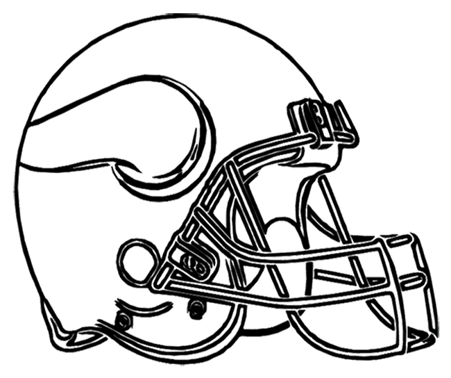 Nfl Vikings Coloring Pages Coloring Pages