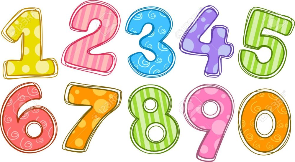 medium resolution of number clipart