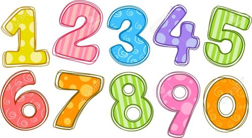 small resolution of number clipart