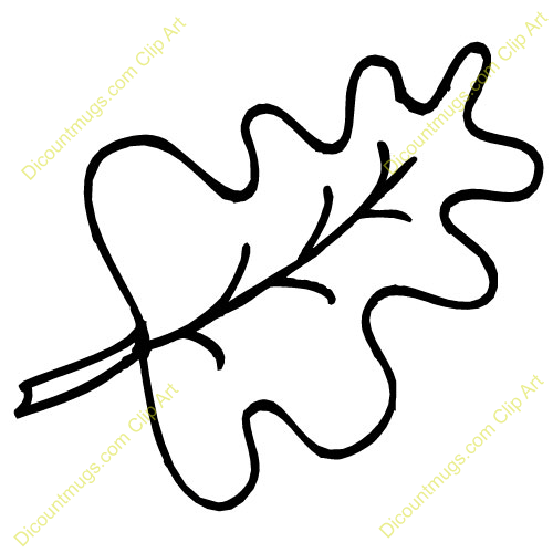 Fall Oak Leaves Coloring Pages