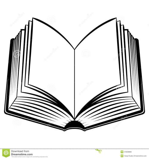 small resolution of open book outline clipart