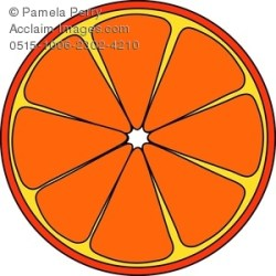 orange clip slice clipart clipartpanda batman categories terms