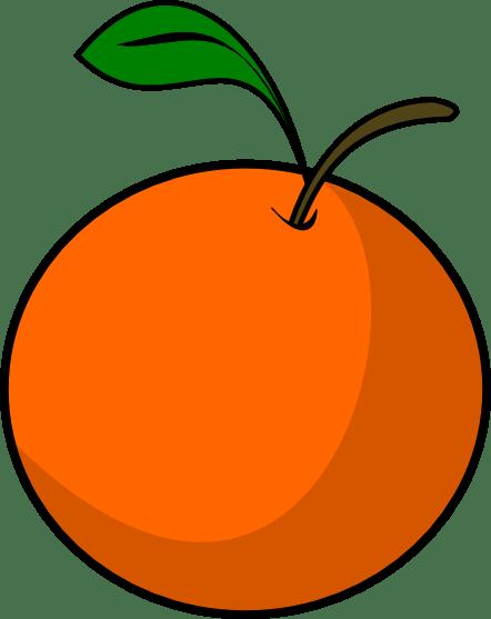 orange clip art free clipart