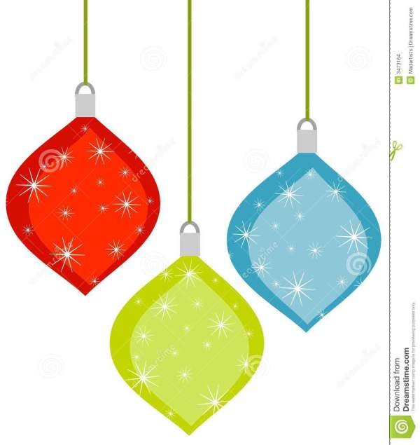 clipart christmas decorations