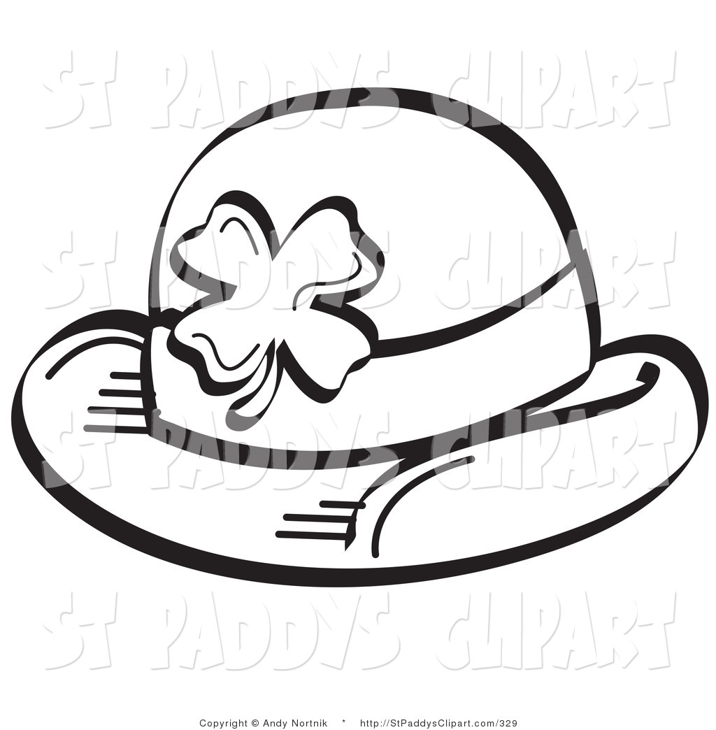 Cowboy Hat Clipart Black And White Clipart Panda