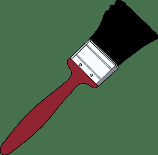 Paint Brush Clip Art Free Clipart Panda