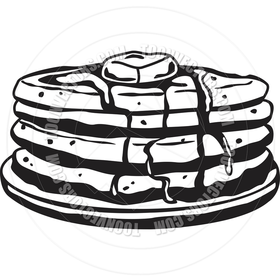 hight resolution of pancake clipart