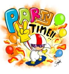 party time clip art [ 1000 x 1000 Pixel ]