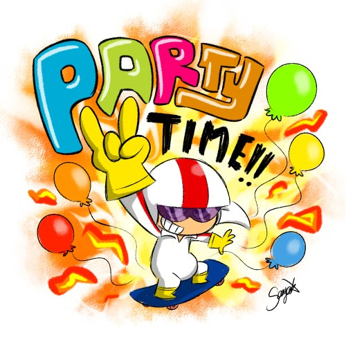 small resolution of party time clip art