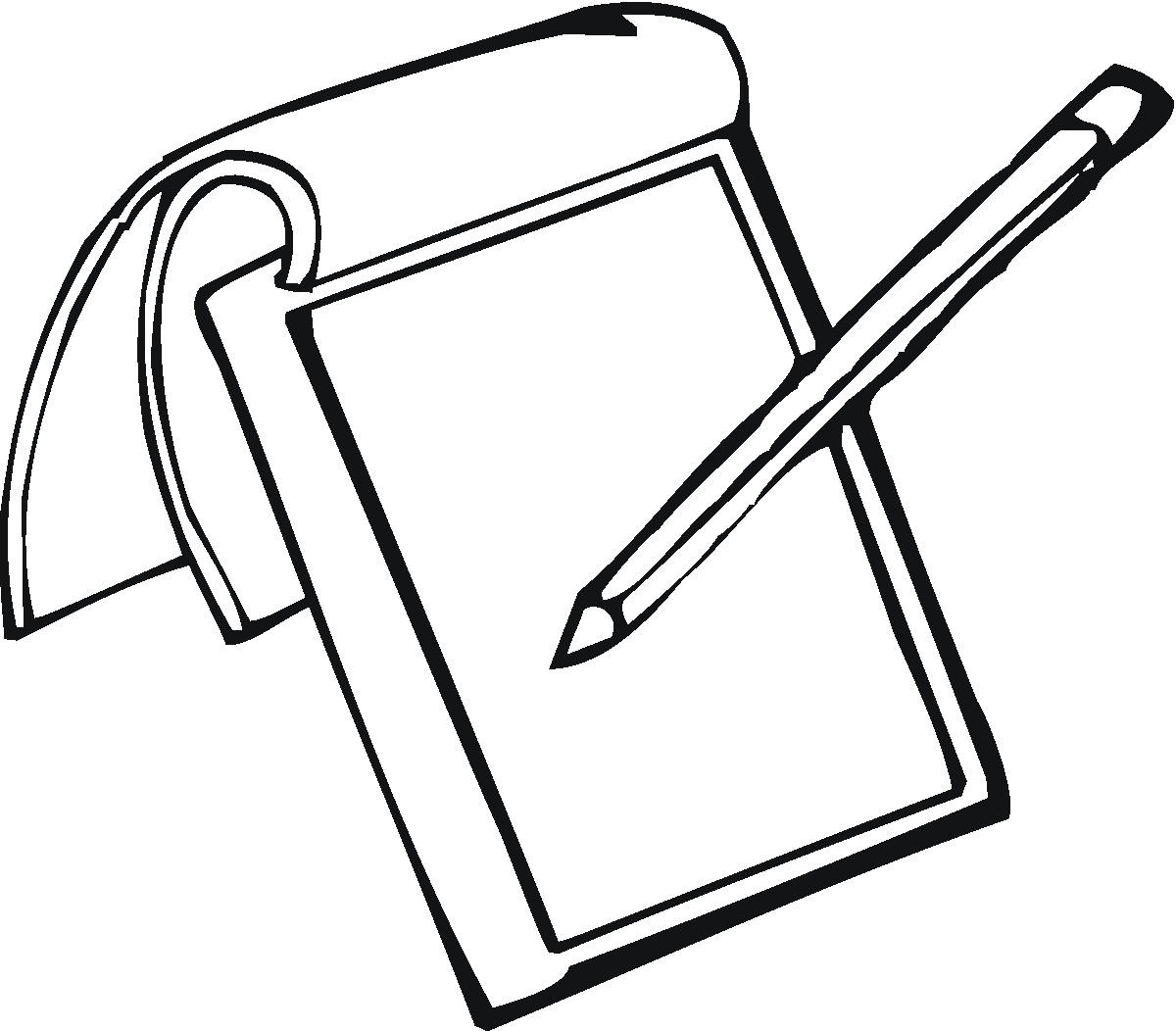 Pen And Paper Coloring Pages Coloring Pages