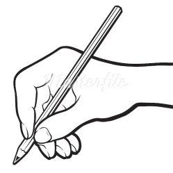 pencil writing clip clipart clipartpanda paper terms