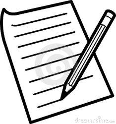 paper clipart pencil clipartpanda clip writing powerpoint 20art 20clip terms