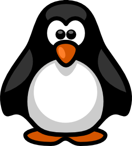 pin free penguins clipart