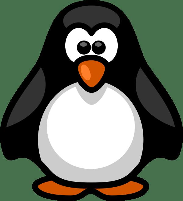 penguin clip art printable free