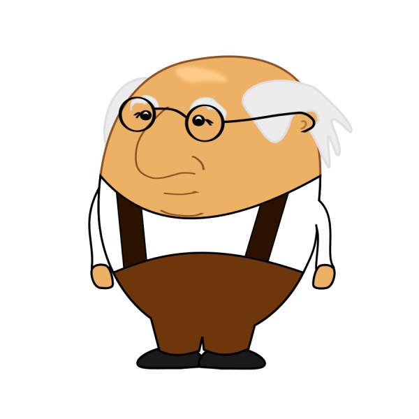 Free Clip Art Old Man